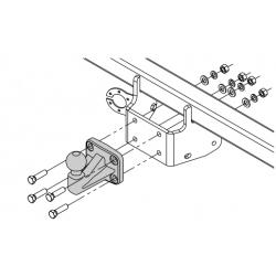 Tažné zařízení pro Renault Alaskan - Pickp - šroubový systém - od 2017/-