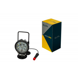 Pracovné svetlo 9LED*3W/27W, 1400LM, magnet, ECE R10
