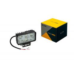 Pracovné svetlo 6LED*3W/18W, 900LM, 2káble (30cm), ECE R10