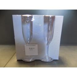 Poháre na šampanské 160ml
